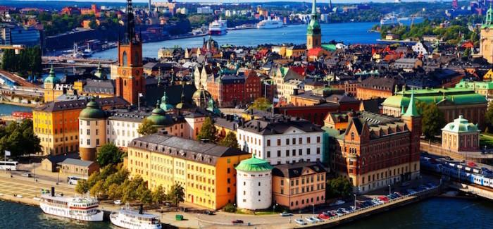 Vedere Stoccolma dall'alto