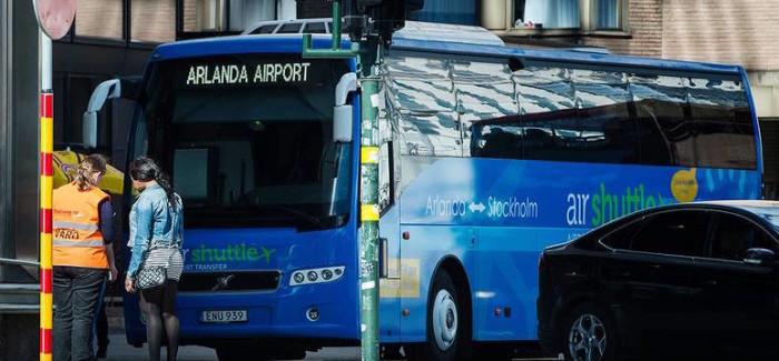 Airshuttle collega l'aeroporto di Arlanda e il centro di Stoccolma