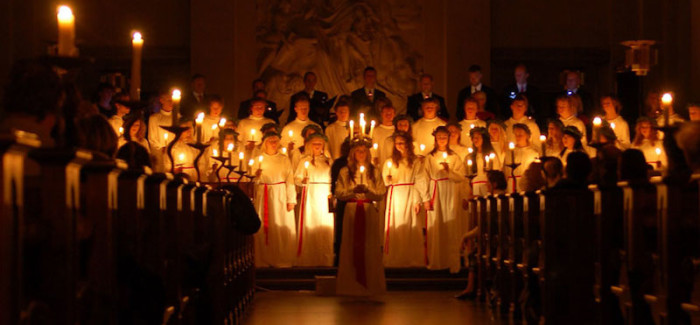 Festa di Santa Lucia in Svezia