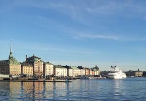 Panorama di Stoccolma - cut