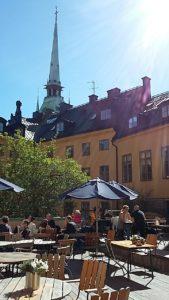 La terrazza di Grillska Huset