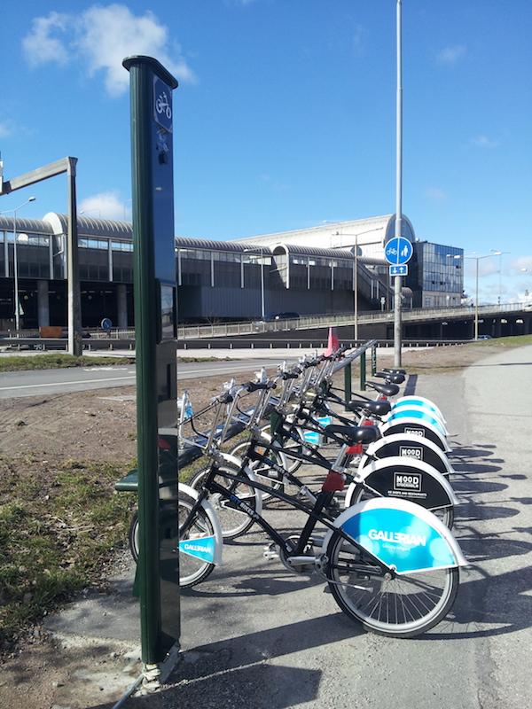 Le City Bikes a Gullmars