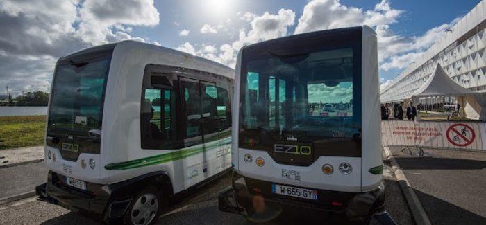 A Stoccolmai primi autobus senza conducente della Scandinavia