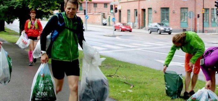 La nuova moda svedese del plogging: corri, ti alleni e nel frattempo pulisci le strade