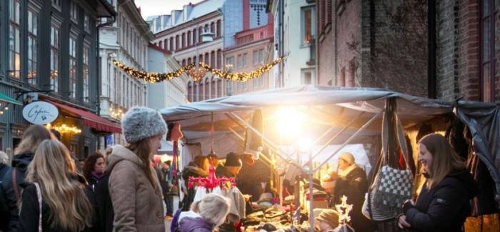 Mercatini di Natale a Göteborg ed i luoghi dello shopping natalizio