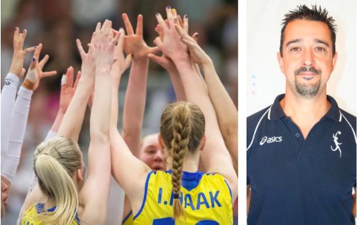 Ettore Guidetti è il nuovo CT della nazionale femminile di pallavolo in Svezia
