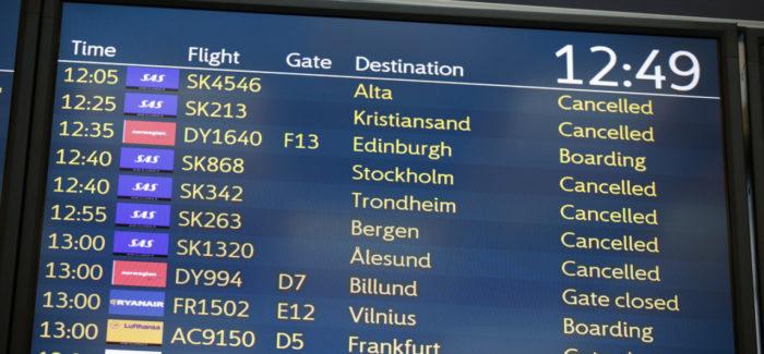 Continua lo sciopero dei piloti SAS: cancellati più di 700 voli