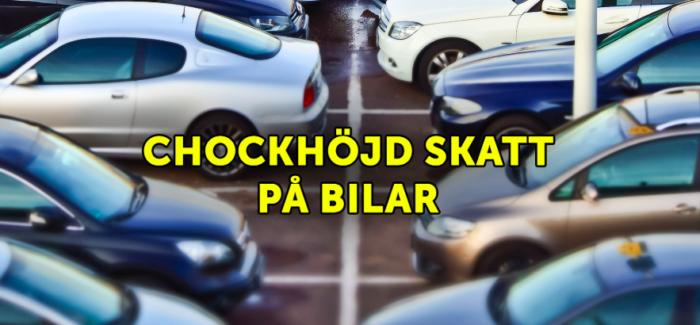 Diminuzione delle immatricolazioni di auto nuove in Svezia