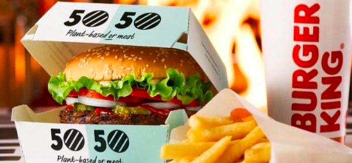 Ecco spiegato come il menù 50/50 di Burger King stupirà i clienti svedesi