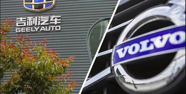 Tentativi di fusione tra case automobilistiche Volvo Cars e Geely